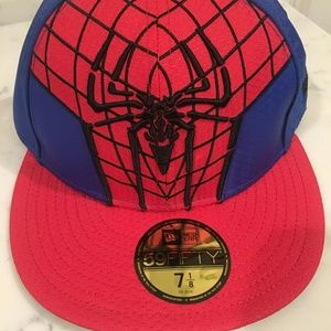 Marvels spiderman fitted new era hat